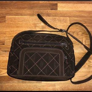 Vera Bradley quilted crossbody purse